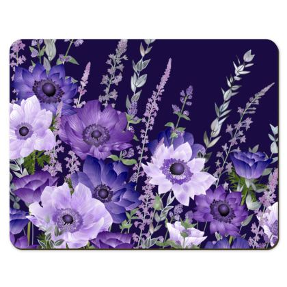 Placemats - The Evening Anemone Patch