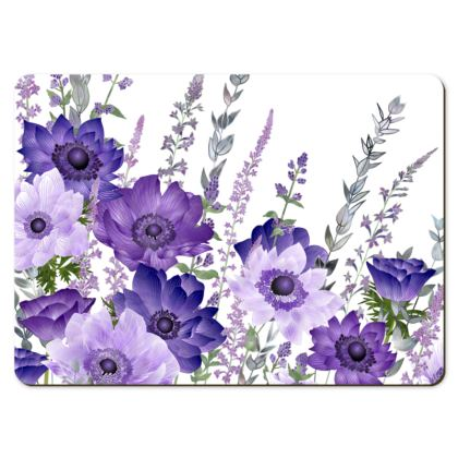 Large Placemats - The Morning Anemone Patch