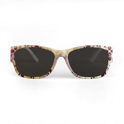 Elegant golden mandala Sunglasses