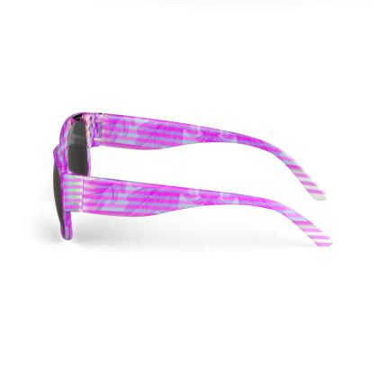 Pink floral Sunglasses