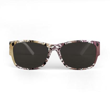 Floral mandala Sunglasses