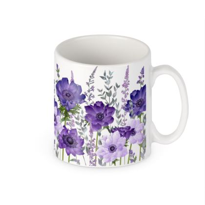 Ceramic Mug - The Morning Anemone Patch