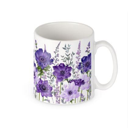 Ceramic Mug - The Morning Anemone Patch