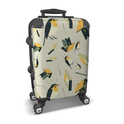Flying Bird...house - Suitcase