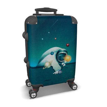 Astronaut Billards - Suitcase