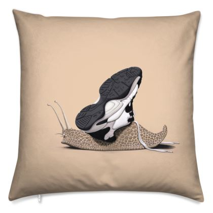 The Sneaker ~ Colour Animal Behaviour Cushion