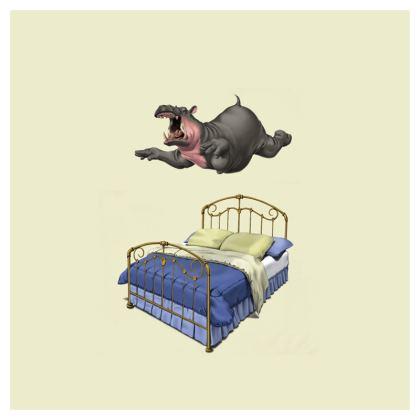 Break Time ~ Colour Animal Behaviour Cushion