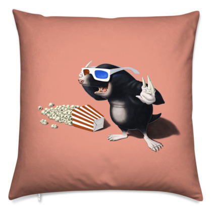 3D ~ Colour Animal Behaviour Cushion