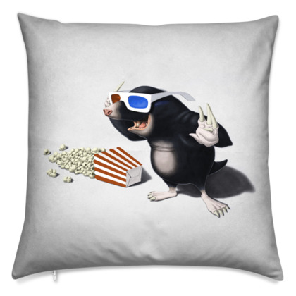 3D ~ Wordless Animal Behaviour Cushion