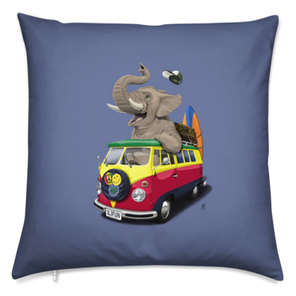 Pack the Trunk ~ Colour Animal Behaviour Cushion