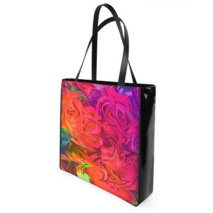 Velvet Roses Beach Bag