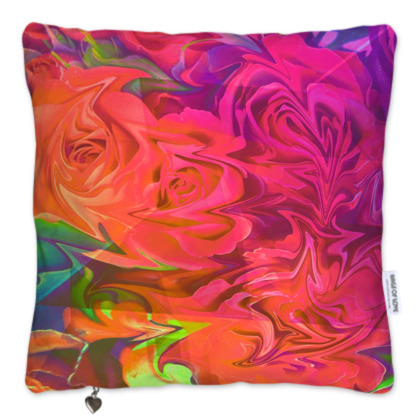 Velvet Roses Scatter Cushion Set