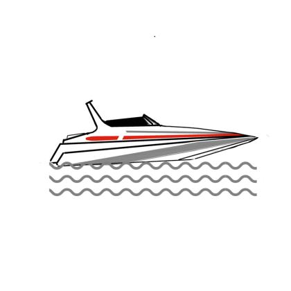 Powerboat Travel Mug