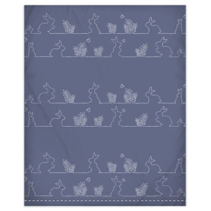Rabbit Friends Duvet Cover & Pillowcase Set - Junior