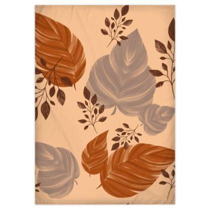 Autumn Spice Duvet Cover & Pillowcase Set - Single