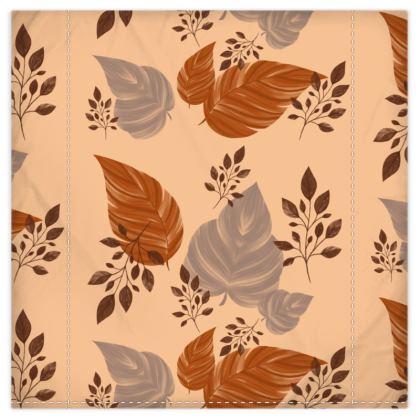 Autumn Spice Duvet Cover & Pillowcase Set - Double