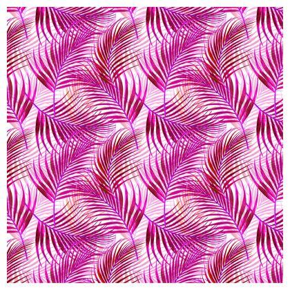 Tropical Garden Collection in Magenta Cube