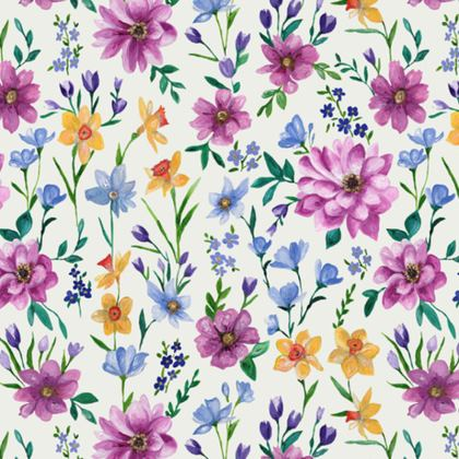 Floral Coasters, Beautiful Blooms design