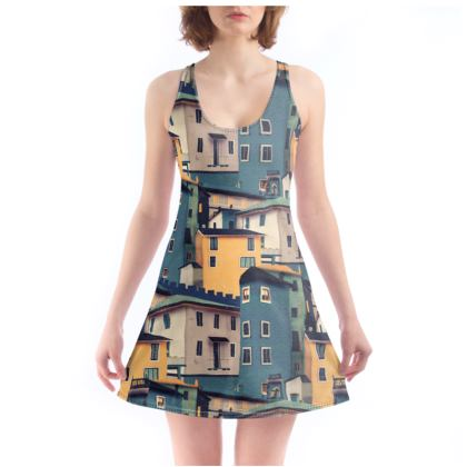 Castles at Night - Beach Dress