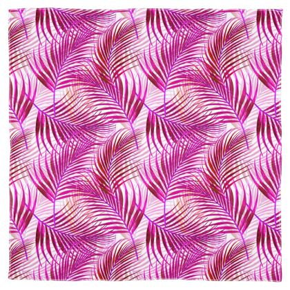 Tropical Garden Collection in Magenta Scarf Wrap or Shawl