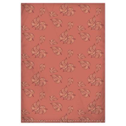 Coral Cascade Duvet Cover & Pillowcase Set - Single