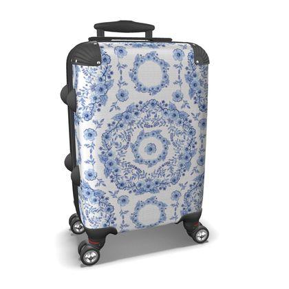 Blue Rhapsody Suitcase