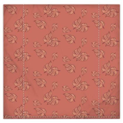 Coral Cascade Duvet Cover & Pillowcase Set - King