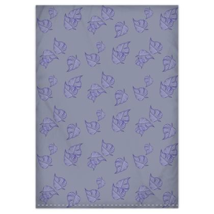 Violet Cascade Duvet Cover & Pillowcase Set - Single