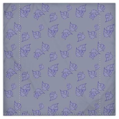 Violet Cascade Duvet Cover & Pillowcase Set - Double