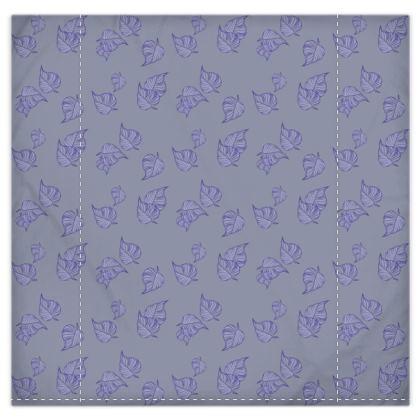 Violet Cascade Duvet Cover & Pillowcase Set - King