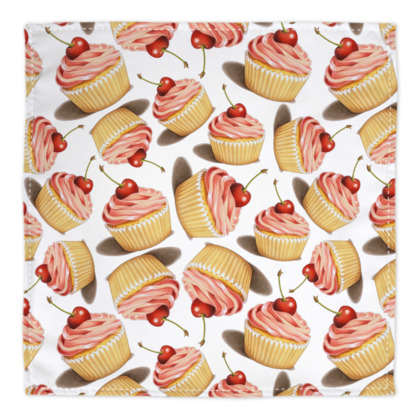 Pink Cupcake Bandana