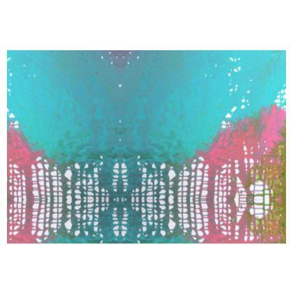 90s Retro Pastel Chair- Blue
