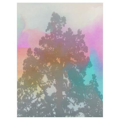 Art Print- The Pine Fog