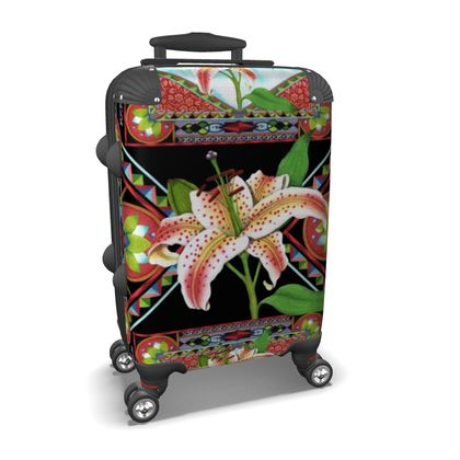 Gilding the Lily Suitcase