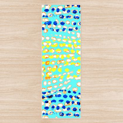 Textural Collection multicolored Yoga Mat