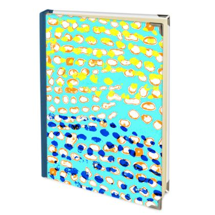 Textural Collection multicolored Address Book