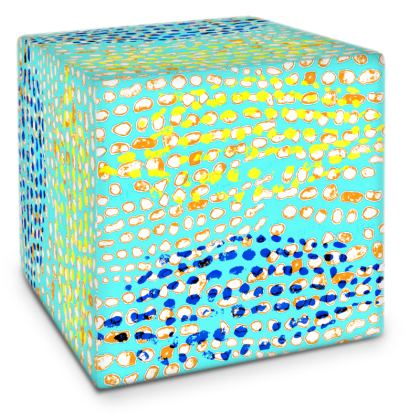 Textural Collection multicolored Cube