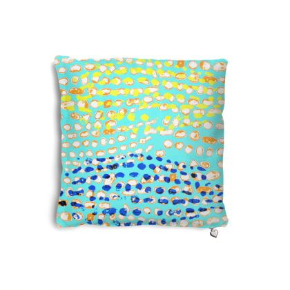 Textural Collection multicolored Pillows Set