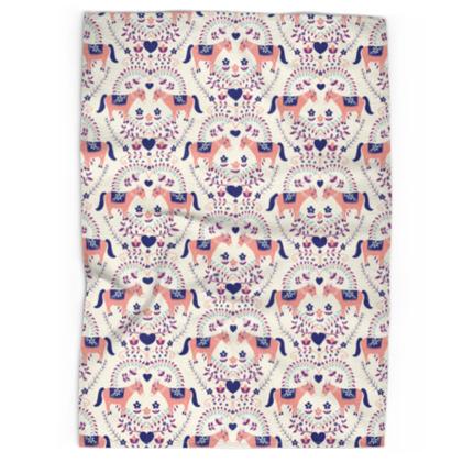 Tea Towel - Donkey Love, Mellow