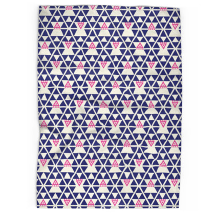 Tea Towel - Pyramid, Bright