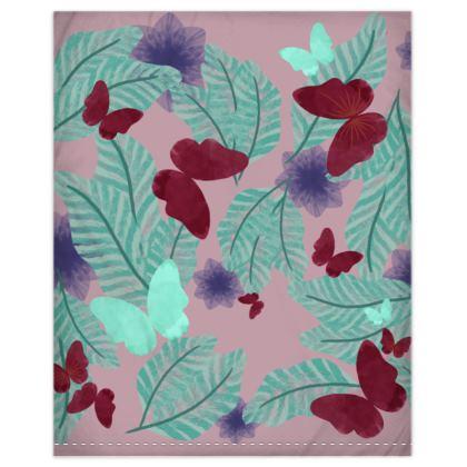 Flora and Fauna Duvet Cover & Pillowcase Set - Junior