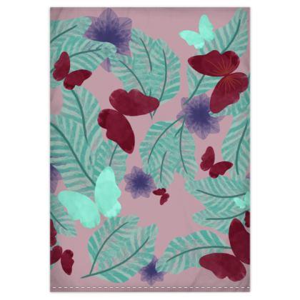 Flora and Fauna Duvet Cover & Pillowcase Set - Single