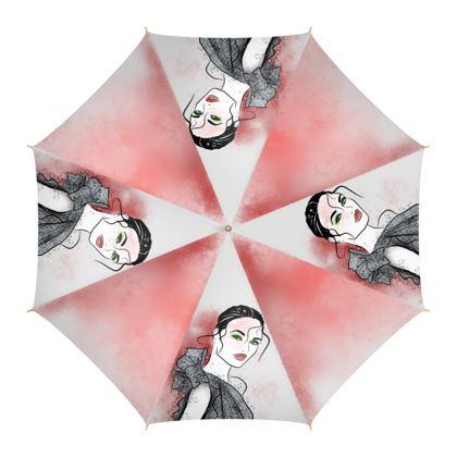 Silver sparkle Umbrella
