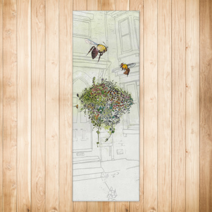 Save the Bees - Runner Rug