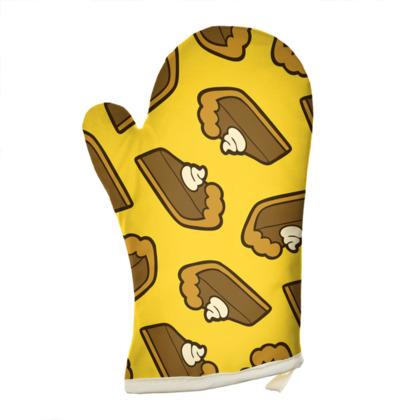 Chocolate Pie Pattern Oven Glove