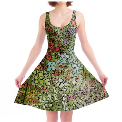Save the Bees Skater Dress
