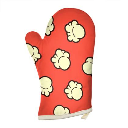 Popcorn Pattern Oven Glove