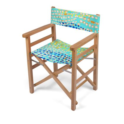 Textural Collection multicolored Directors Chair