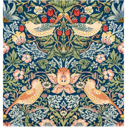 William Morris Art Print Premium Leather Handbag (Artistic Collection)
