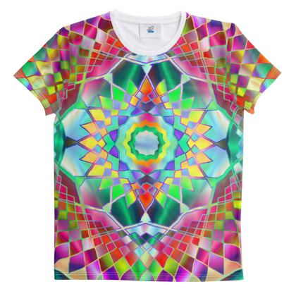 ut And Sew All Over Print T Shirt